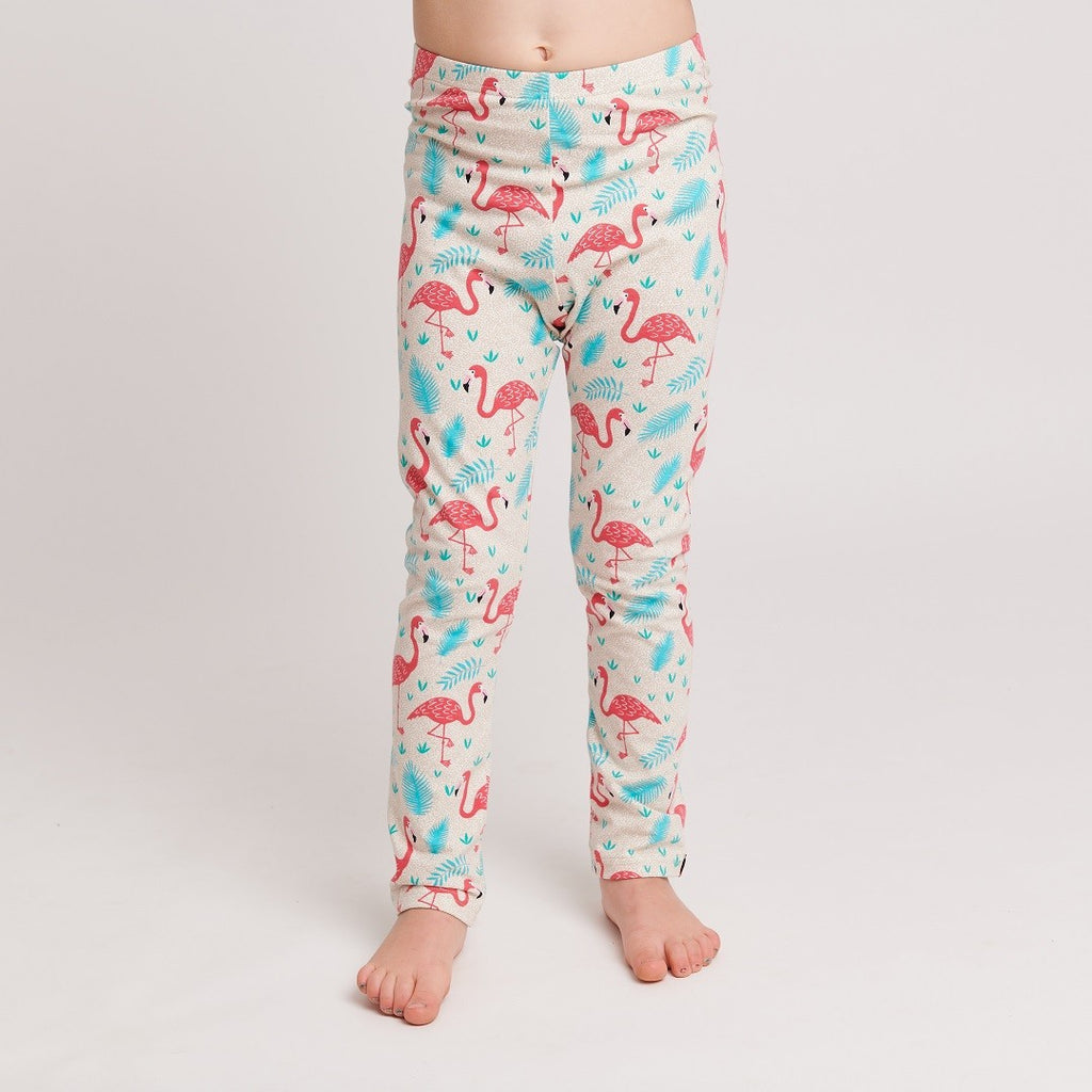 "Leggings ""Flamingo"" - Cheeky Apple"