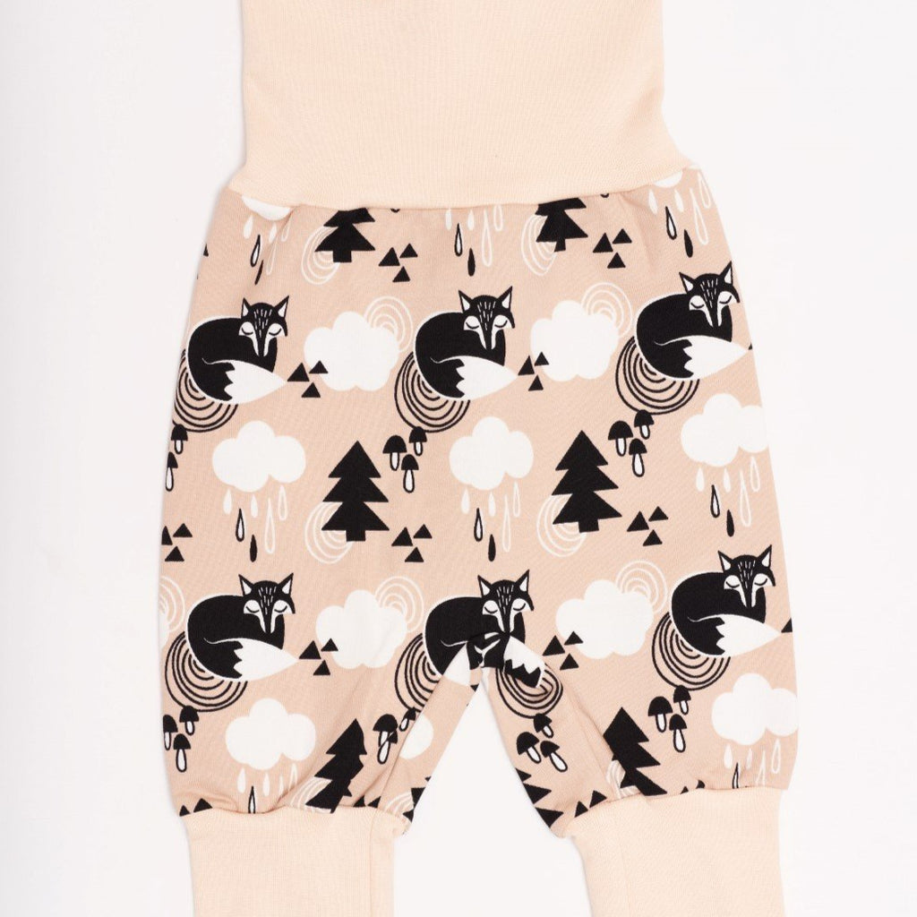 "Baby pants ""Sweat Mr Fox"" - Cheeky Apple"