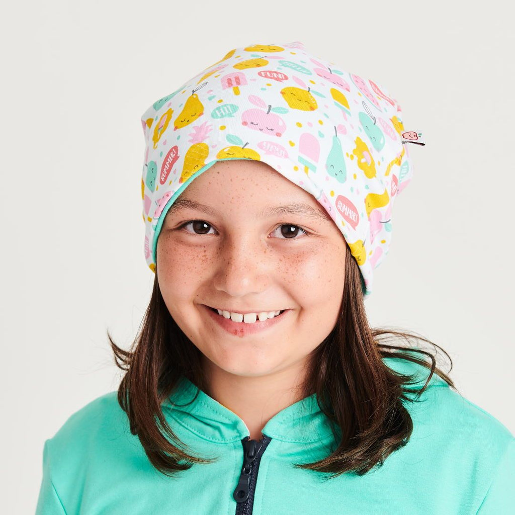 "Beanie ""Yummy"" made from 96% organic cotton and 4% elastane"