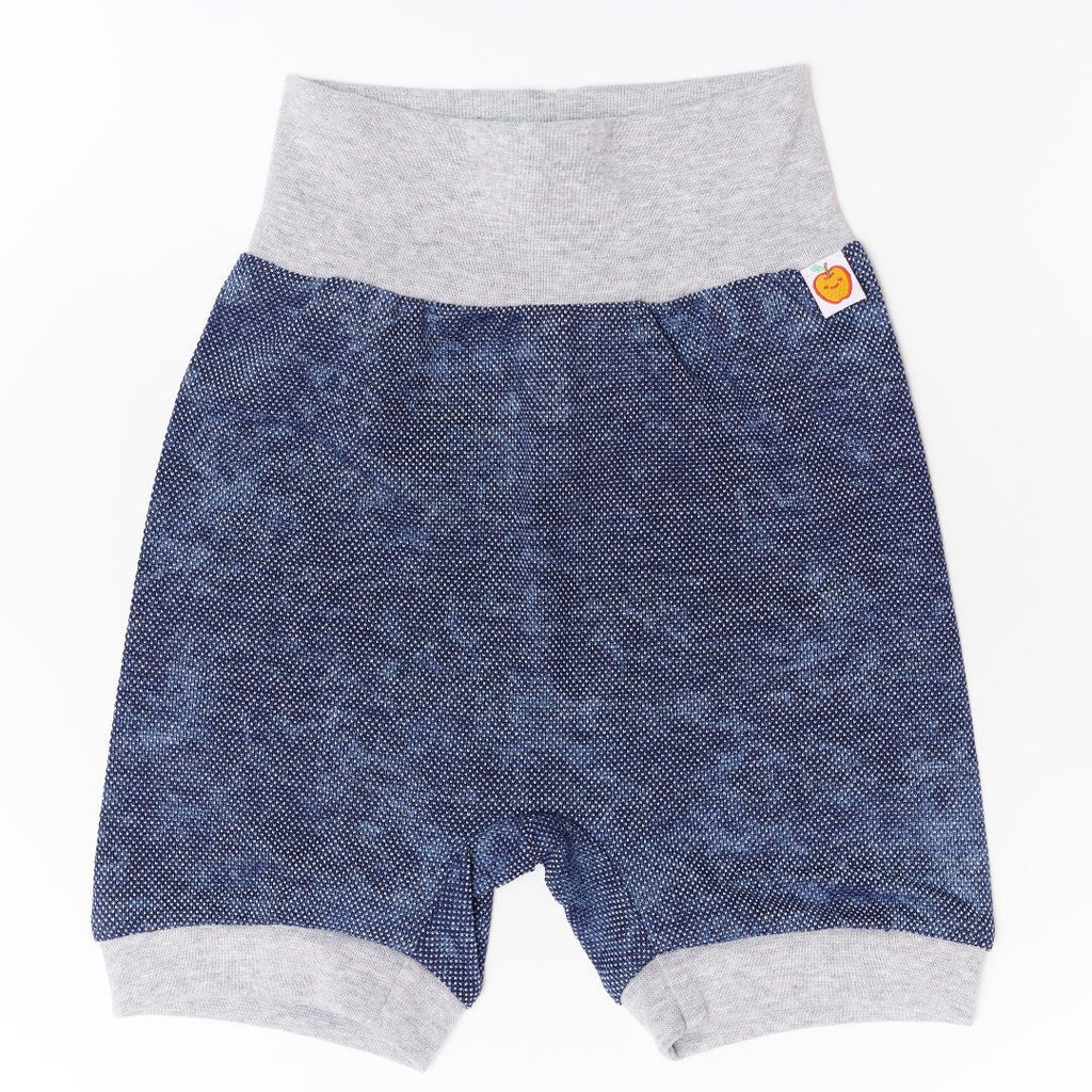 "Basic Shorts ""Pique Jeans/Grey"""