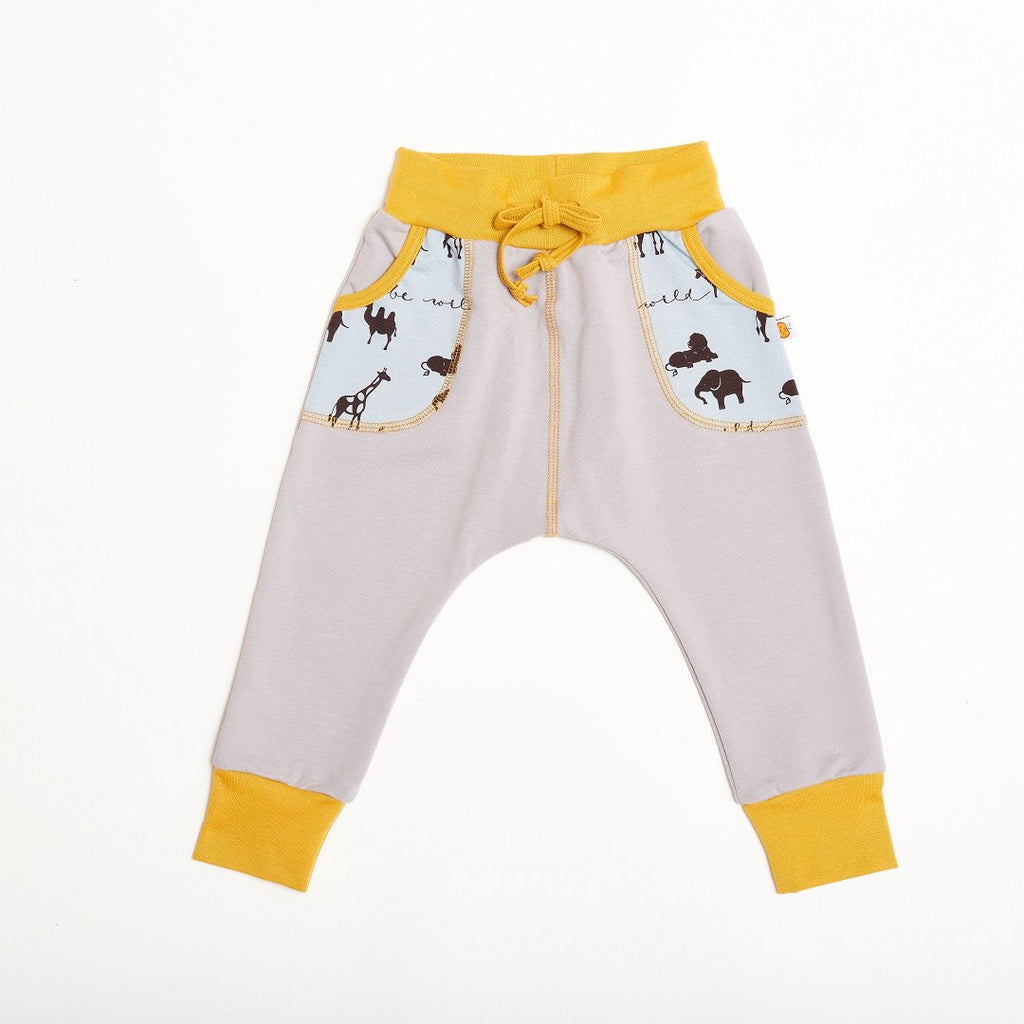"Boys' Sweatpants ""Summersweat Grey/Be Wild"""