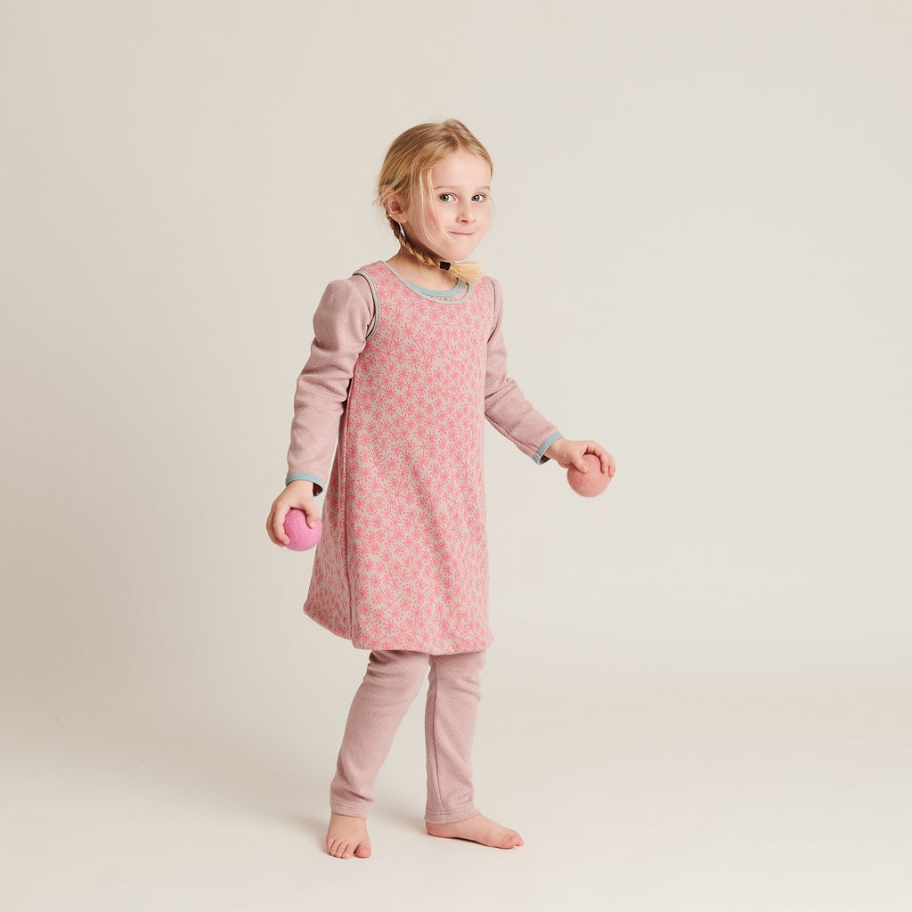 "Reversible dress ""Dandelion Pink/Dotties Pink"""