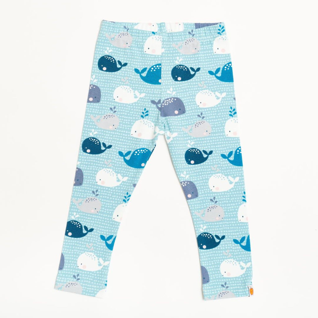 "Leggings ""Whales"""