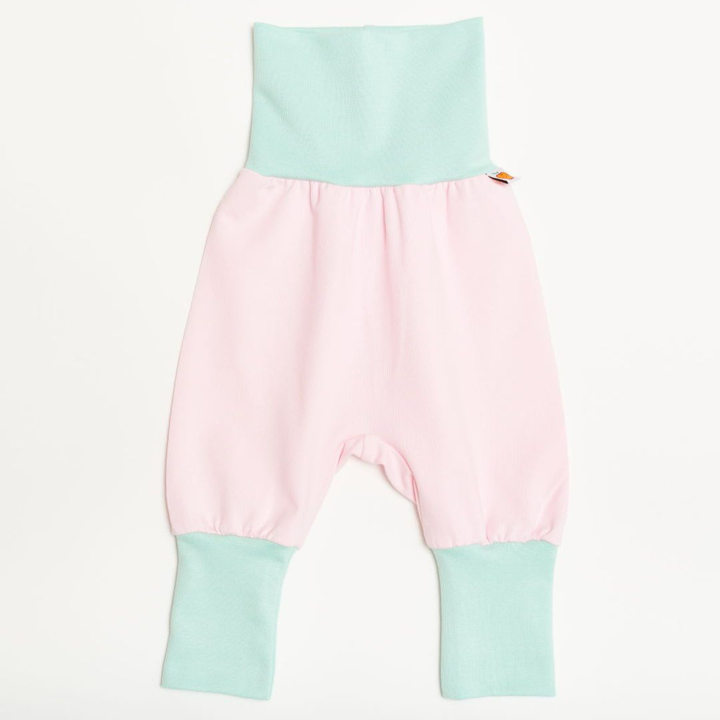 "Baby pants ""Baby Pink/Spearmint"""