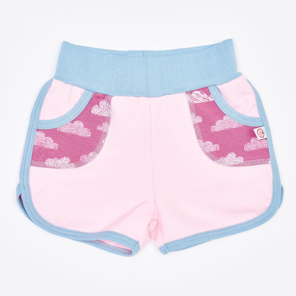 "Organic shorts ""Summersweat Light Pink 