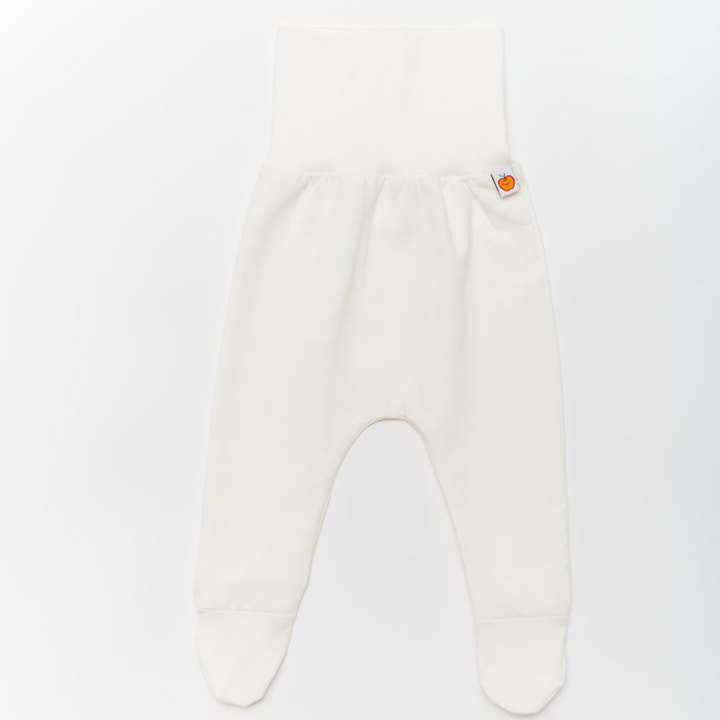 "Footed pants ""Ecru"""