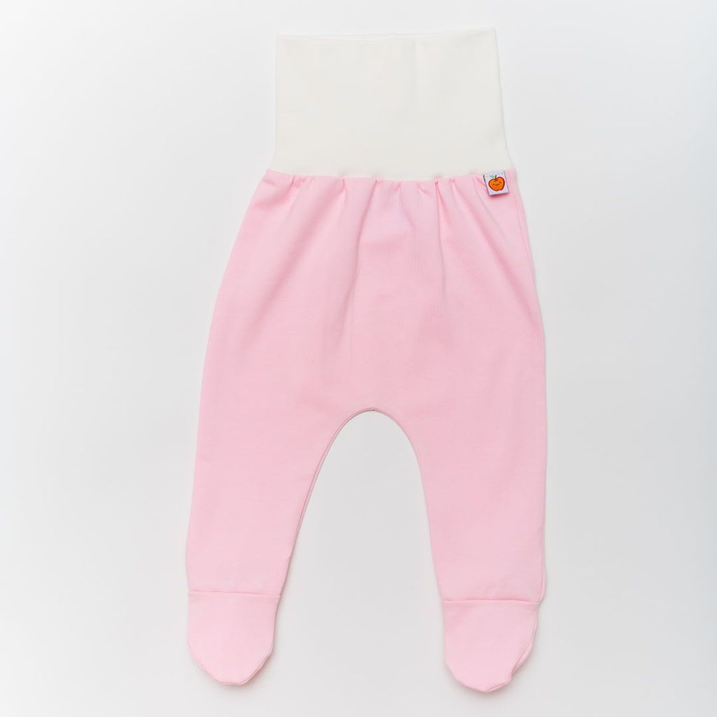 "Footed pants ""Light Pink/Ecru"""