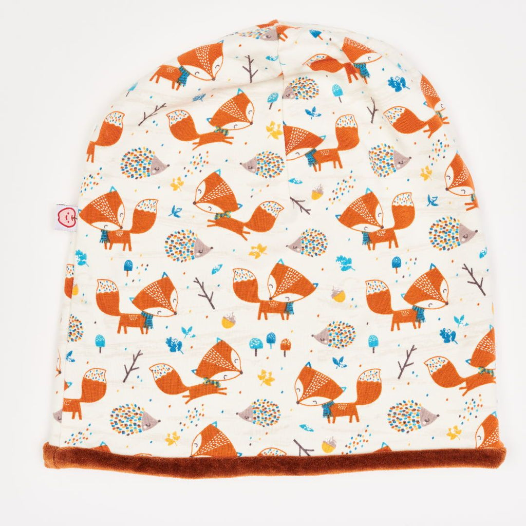 "Beanie ""Fox & Hedgehog