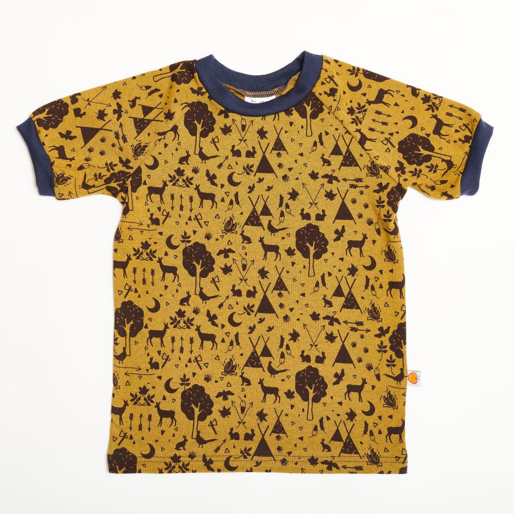 "Boys' T-shirt ""Tipi Tält/Navy"""