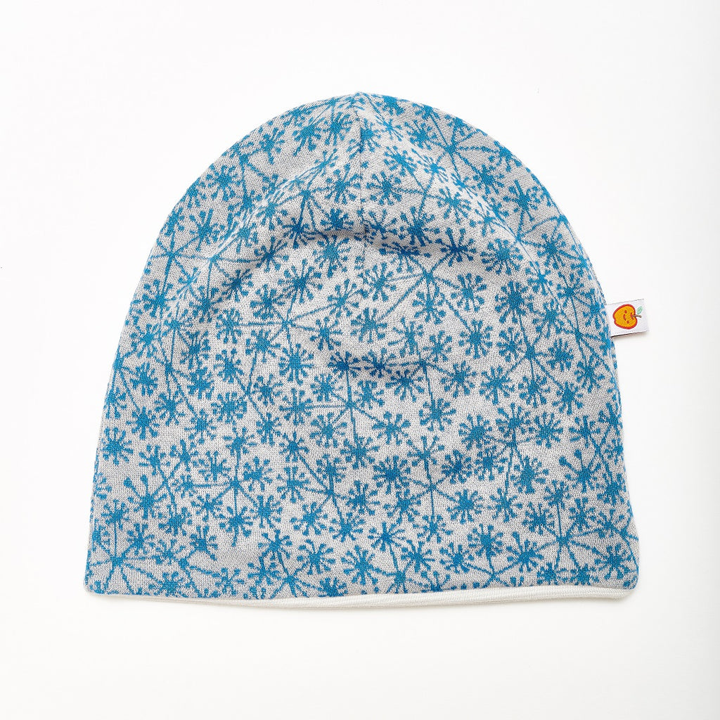 "Beanie ""Dandelion Blue/Rib Glacier"" - Cheeky Apple"
