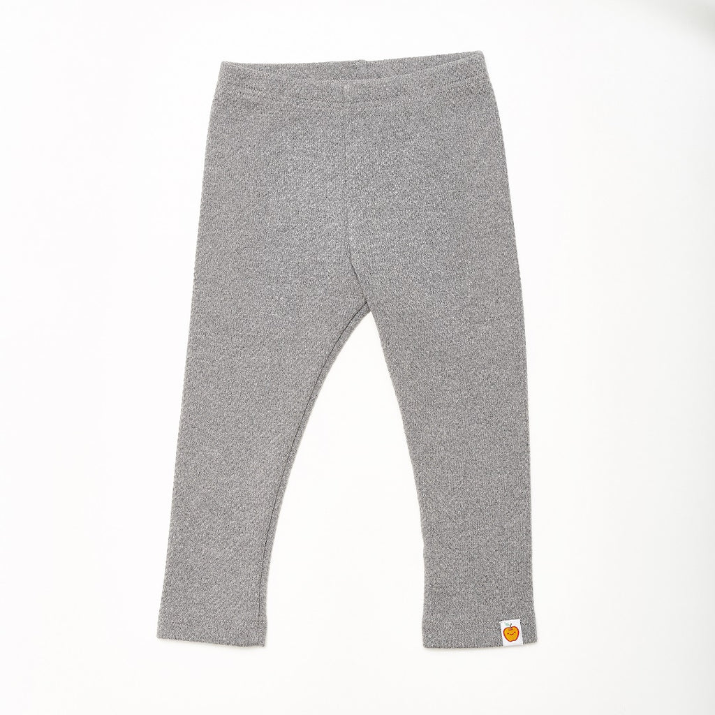 "Leggings ""Interlock Doubleface Grey"" - Cheeky Apple"