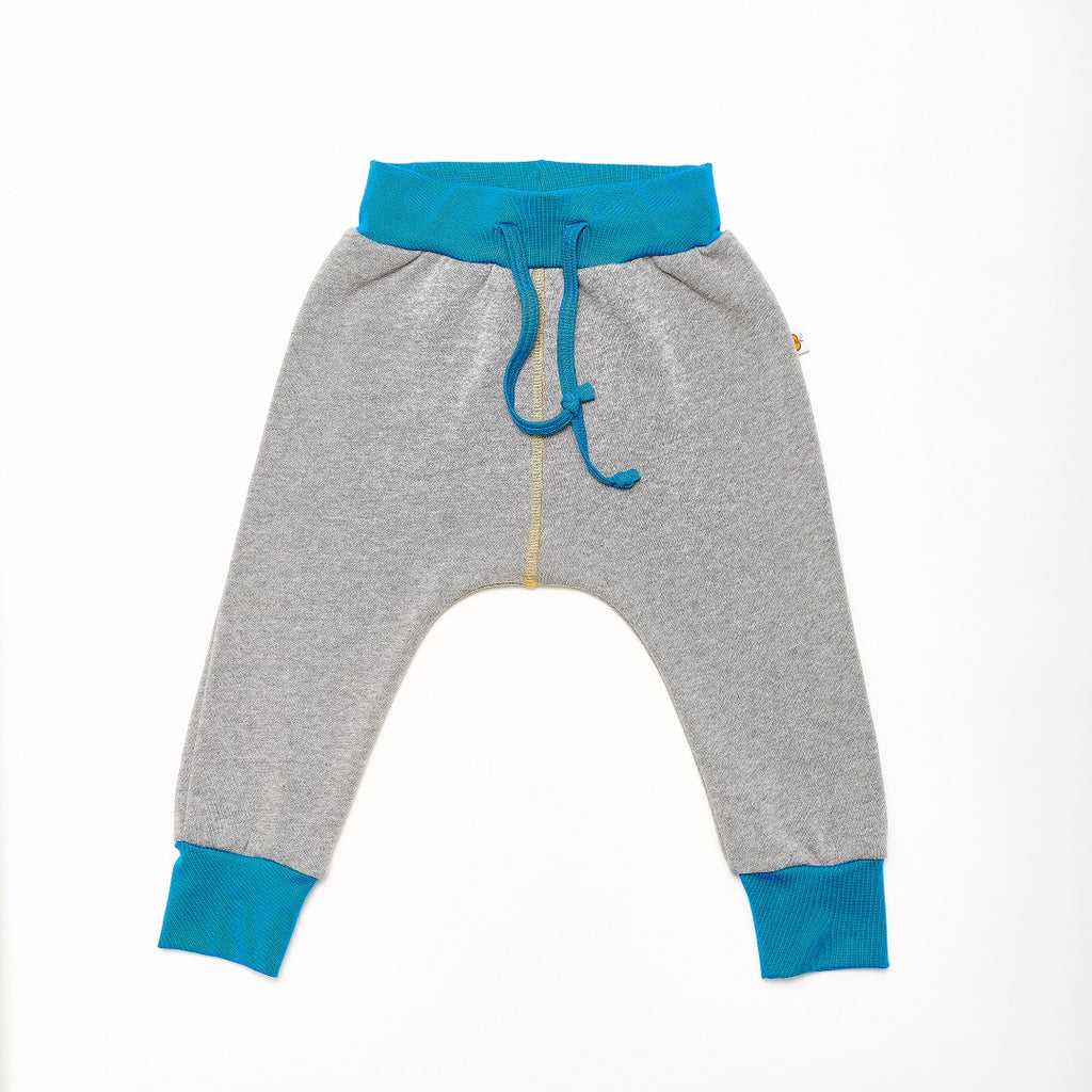 "Boy`s Sweatpants ""Sweat Grey/Dotties Bamboo"""