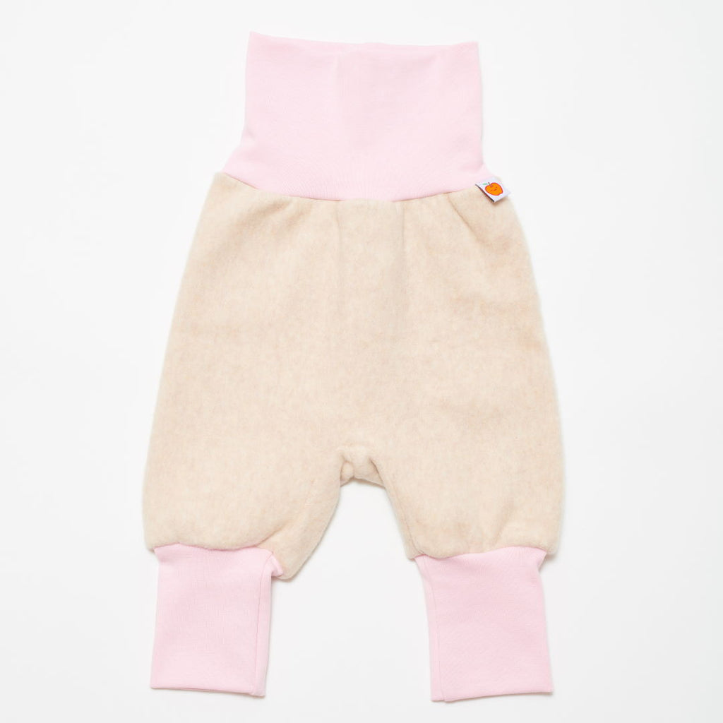 "Baby fleece pants ""Fleece nude/Baby Pink"""