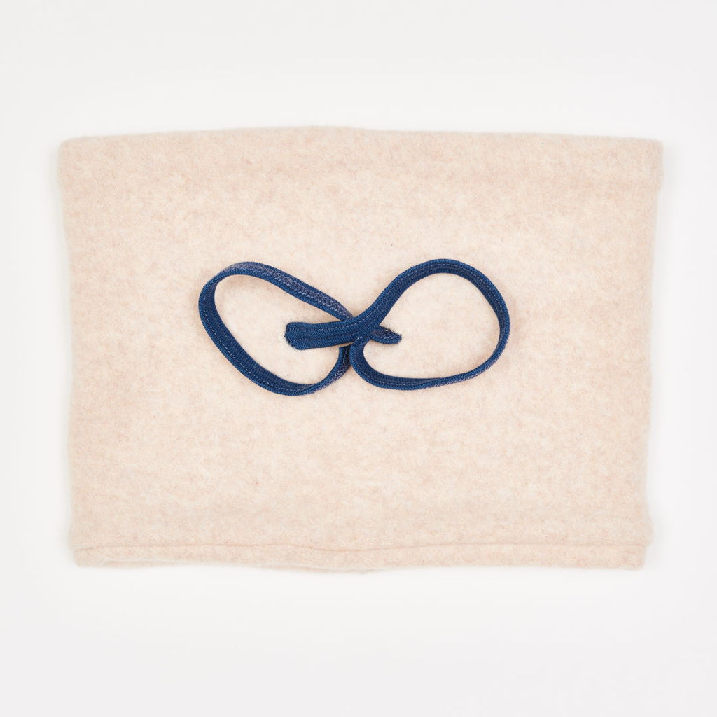 "Lined Neck warmer ""Fleece Nude Marl