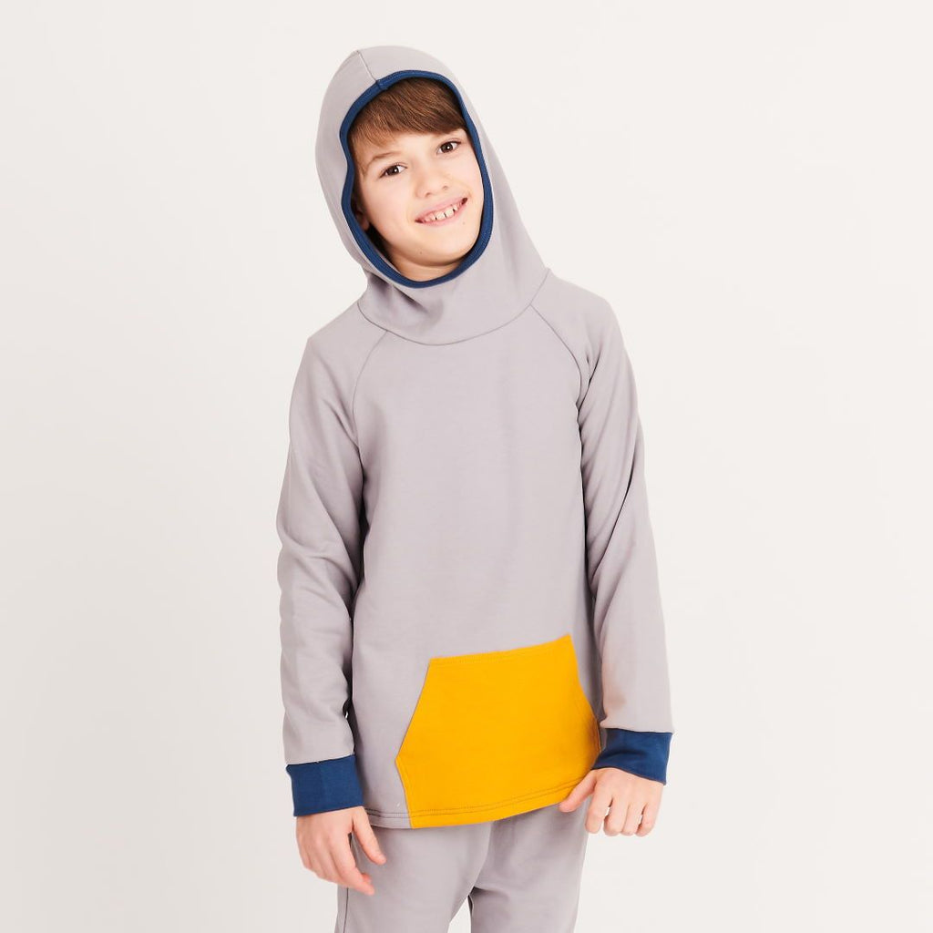 "Hooded Jumper ""Grey 