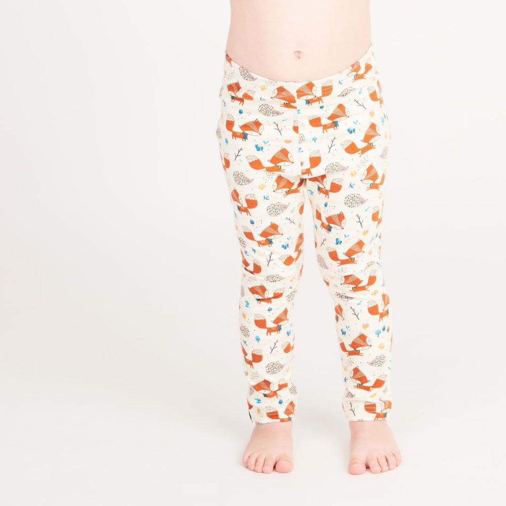 "Leggings ""Fox & Hedgehog"""