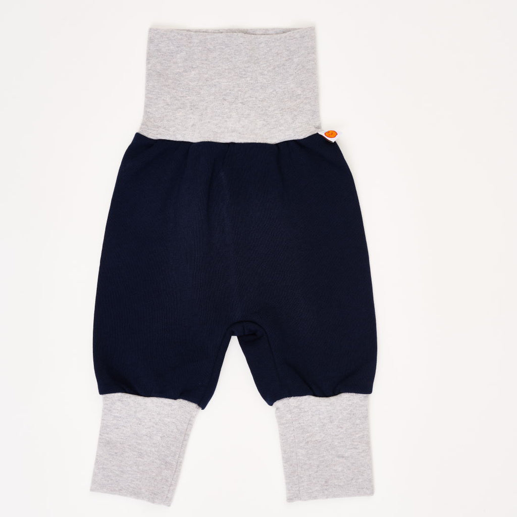 "Baby pants ""Sweat Navy/Grey"""