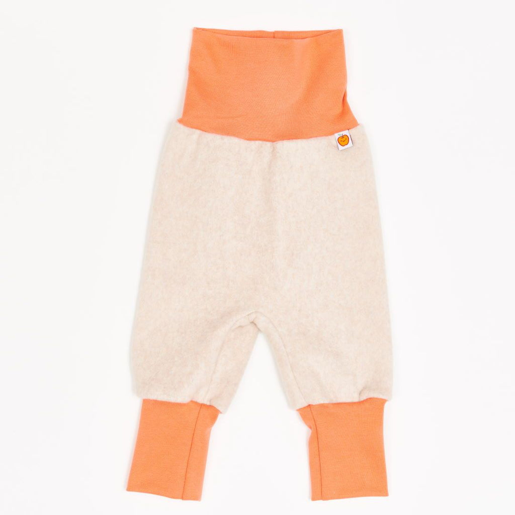 "Baby pants ""Fleece Nude Marl/Apricot"""