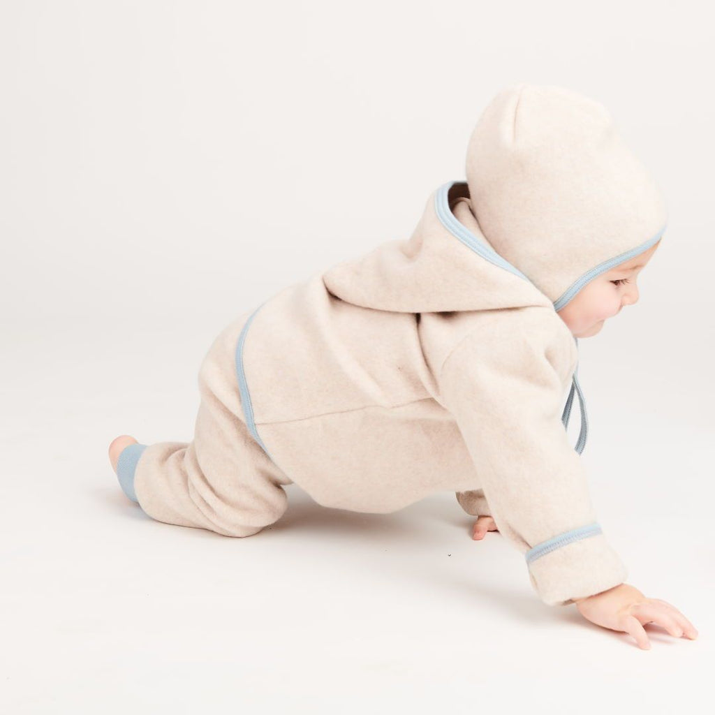 "Baby pants ""Fleece Nude Marl/Frost"""