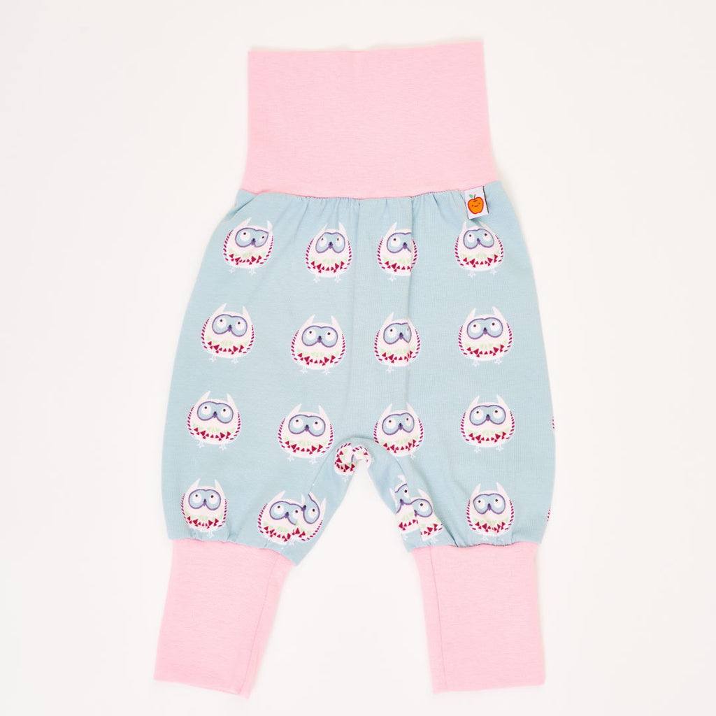 "Baby jersey pants ""Owls nest"""