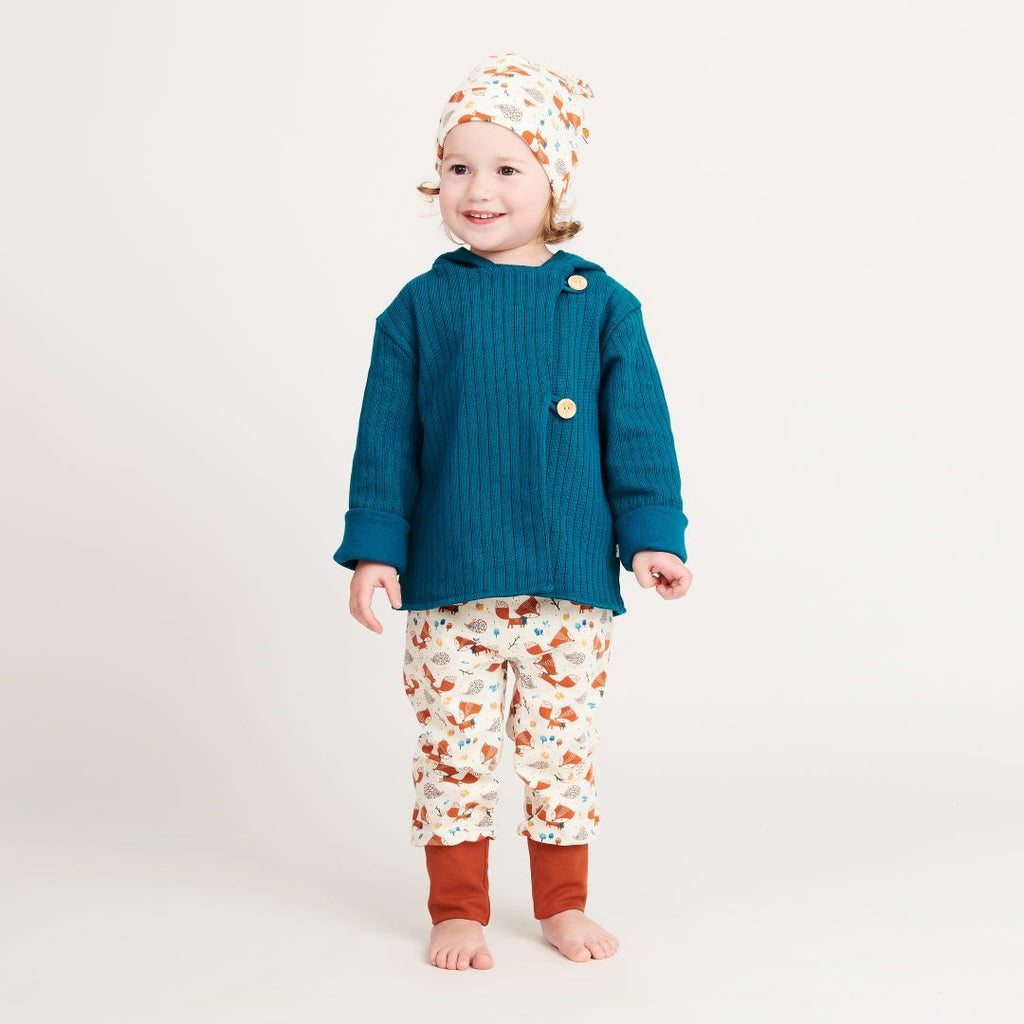"Baby pants ""Fox & Hedgehog/Rust"""