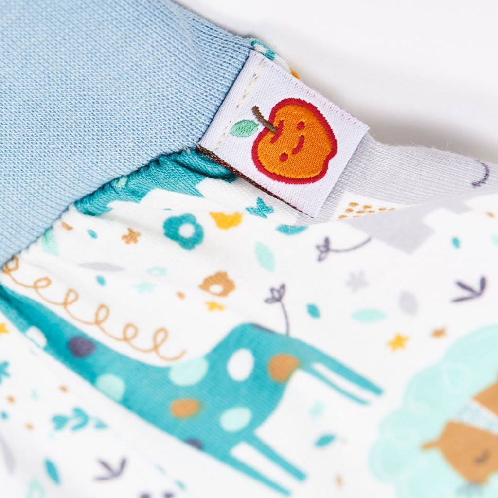 "Baby pants ""Mini Junge/Frost"""