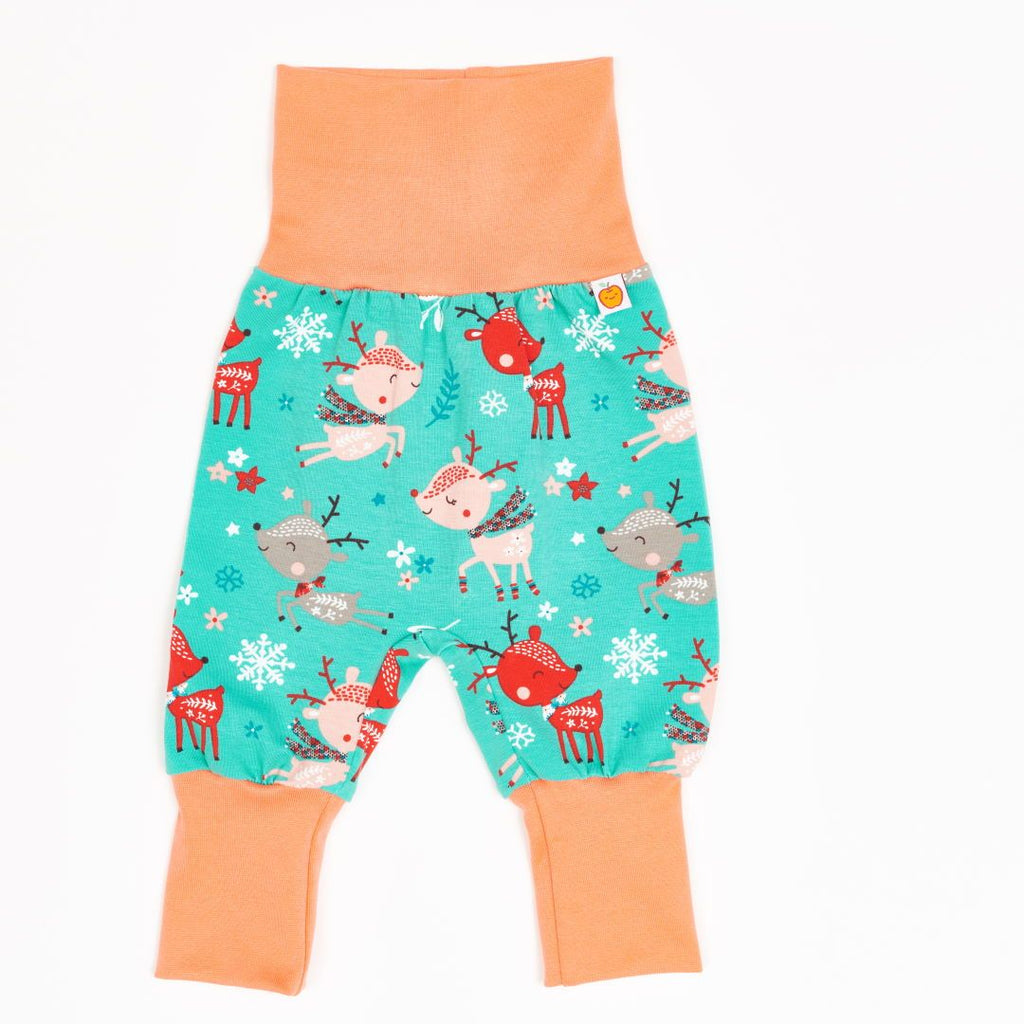 "Baby pants ""Winter Deer/Apricot"""