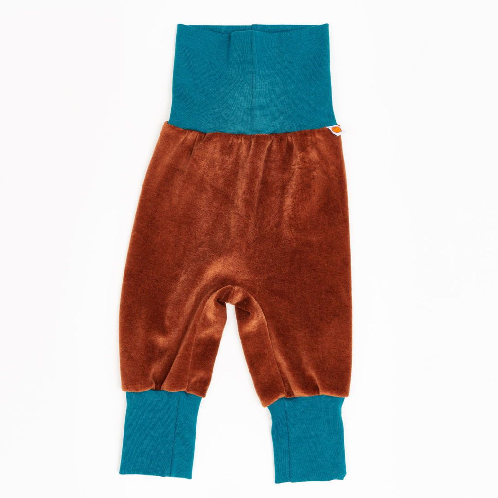 "Baby pants ""Nicki Copper/Petrol"""