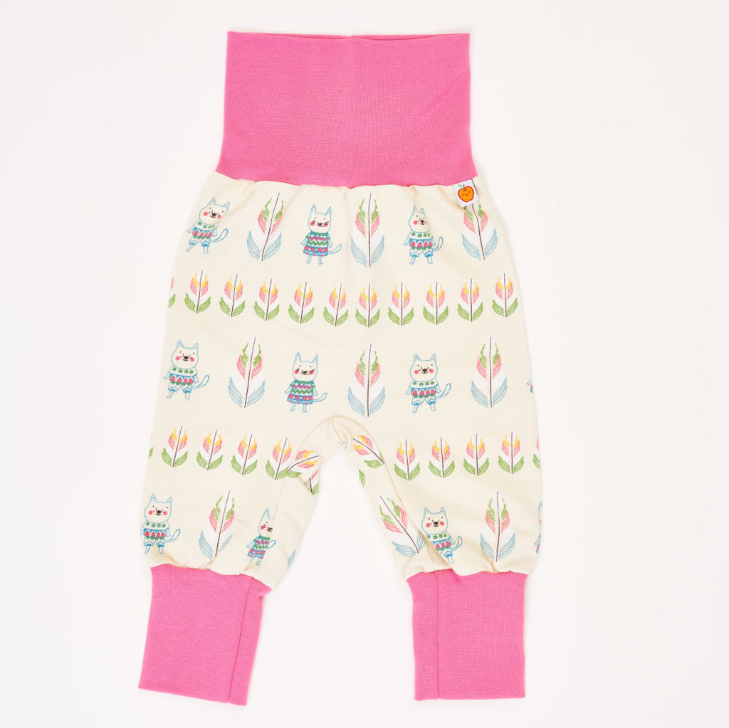 "Baby sweat pants ""Indian cats"""