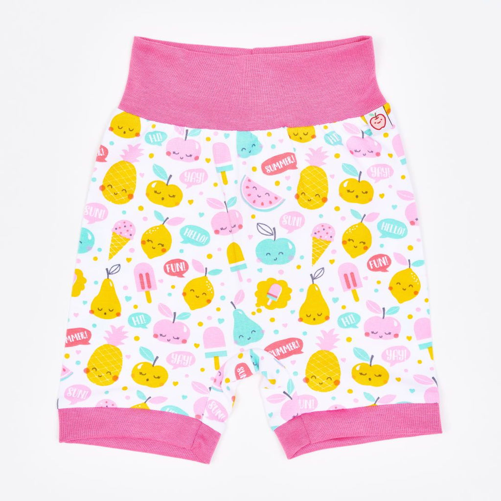 "Organic pumpshorts ""Yummy"" made from 95% organic cotton and 5% elastane"