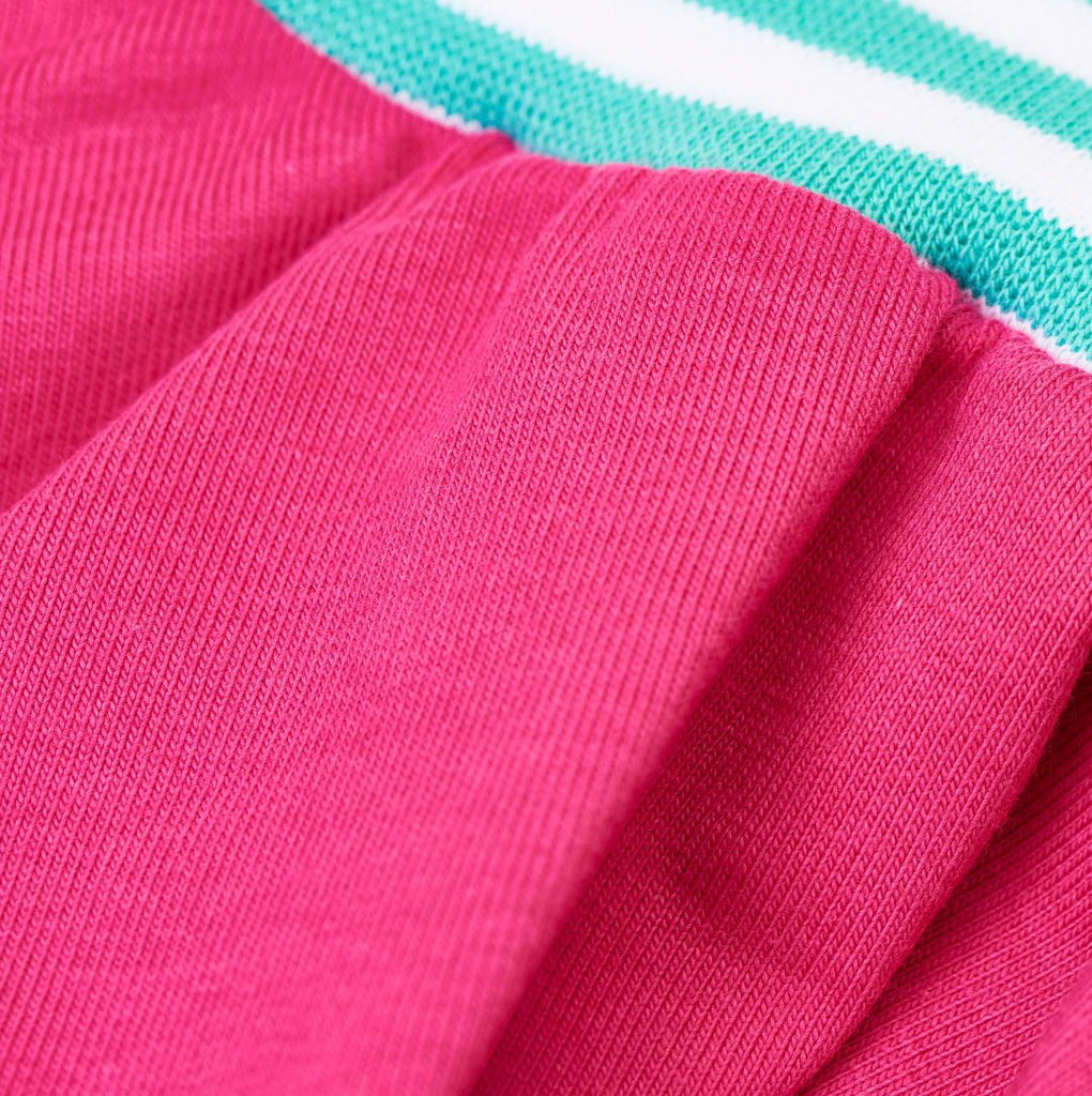"Skirt ""Fuchsia/Mint-White Stripes"""