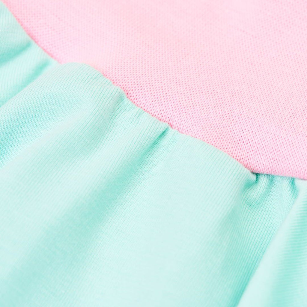 "Skirt ""Spearmint/Baby Pink"""