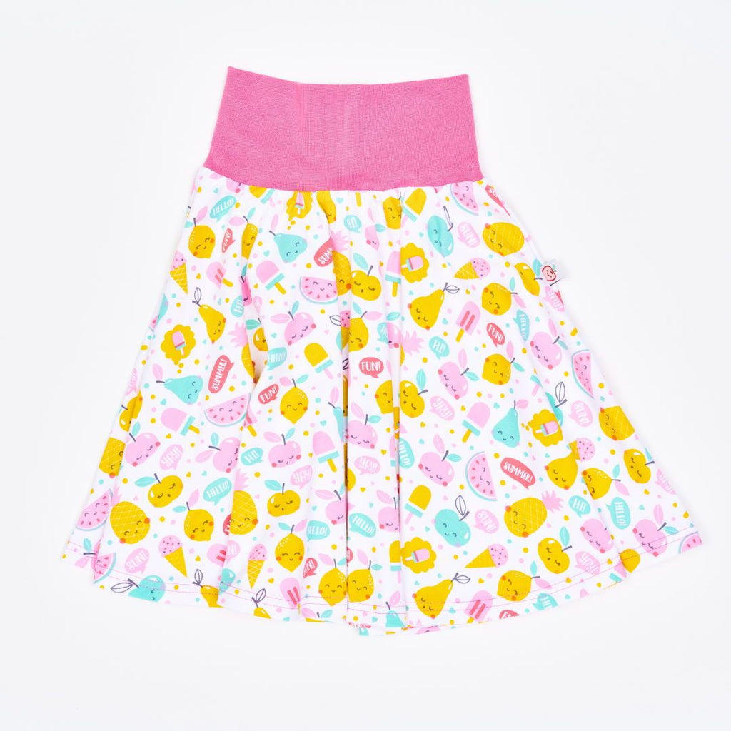 "Skirt ""Yummy"" made from 95% organic cotton and 5% elastane"
