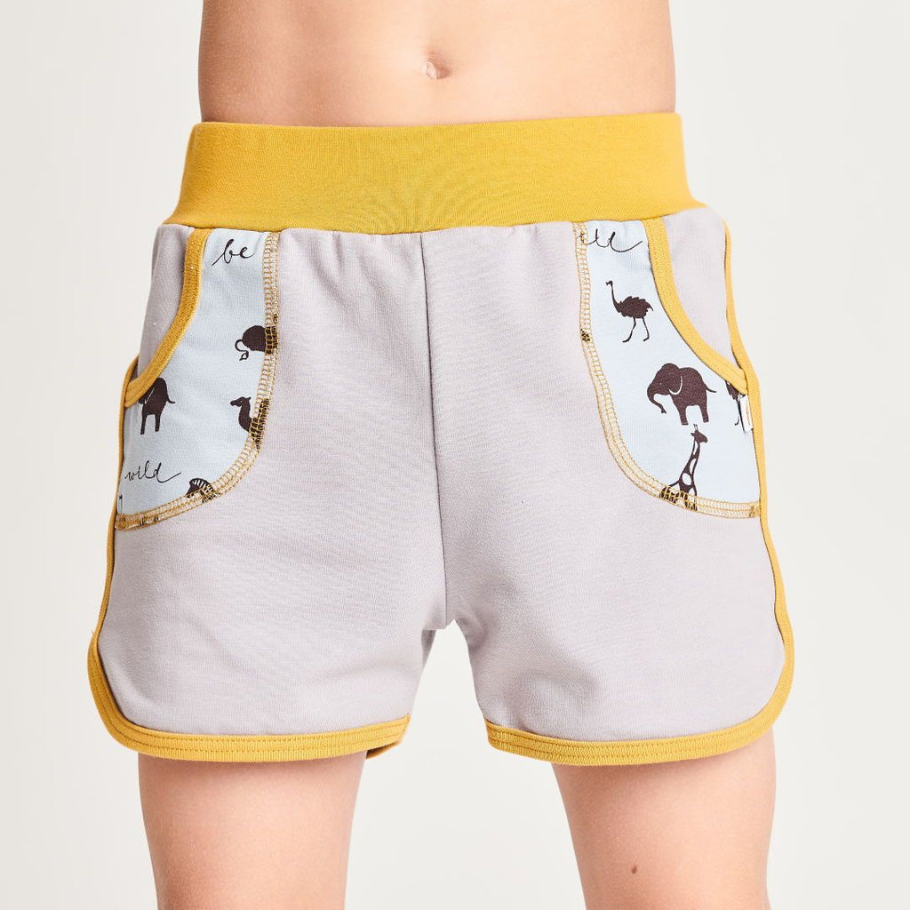 "Shorts ""Summersweat Grey/Be Wild"""