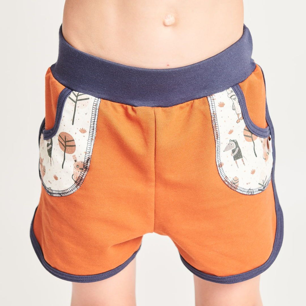 "Shorts ""Summersweat Copper Brown/Paper Gang"""