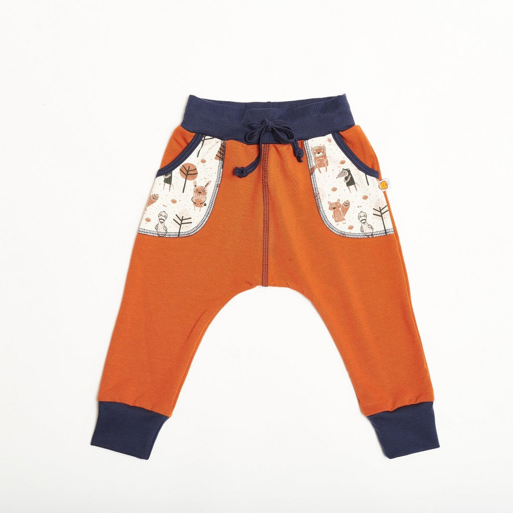 "Boys' Sweatpants ""Summersweat Copper Brown/Paper Gang"""