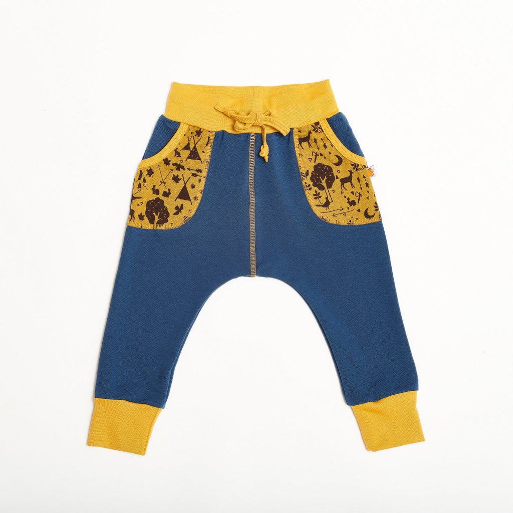 "Boys' Sweatpants ""Summersweat Indigo/Tipi Tält"""