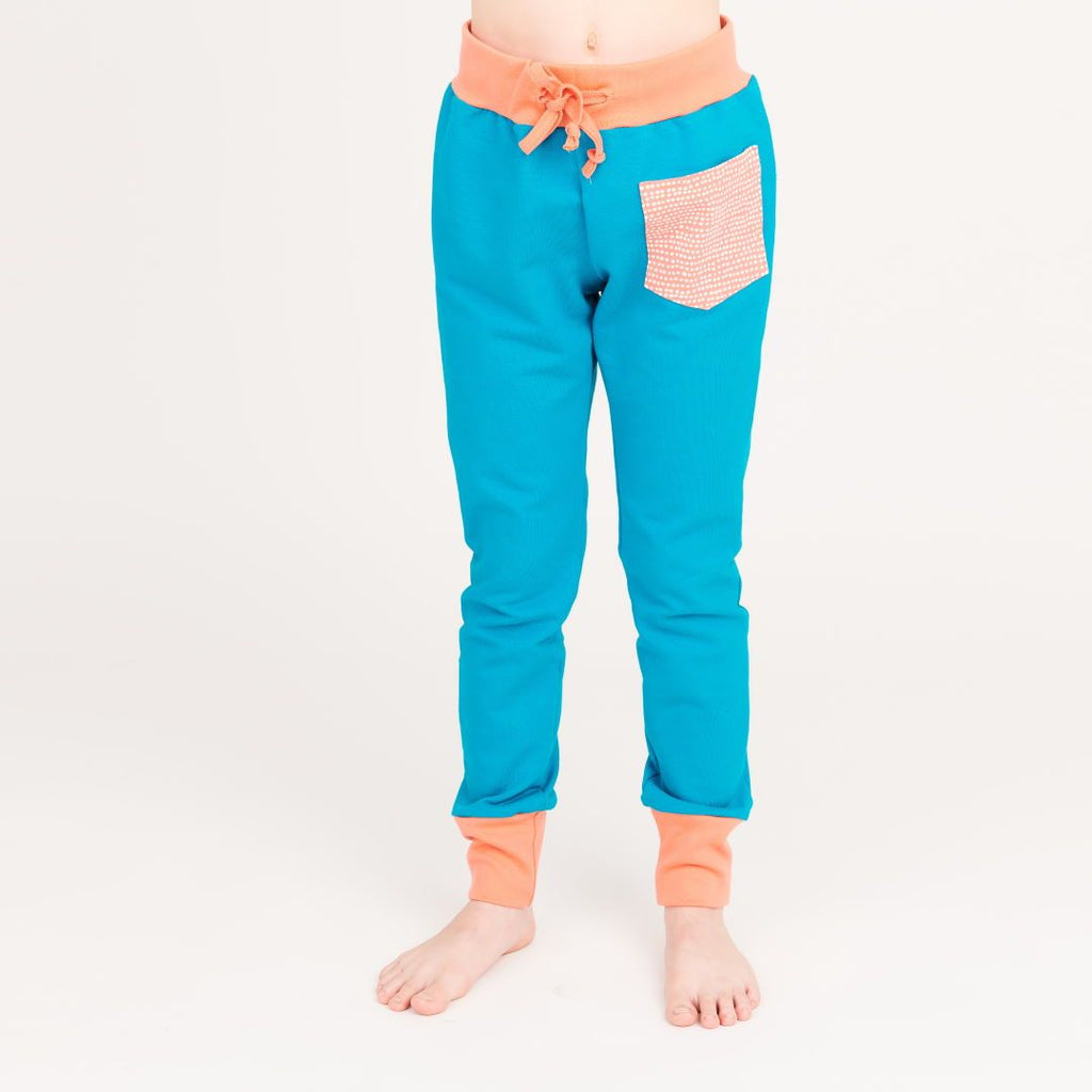 "Girls' Sweatpants ""Lighht Petrol 