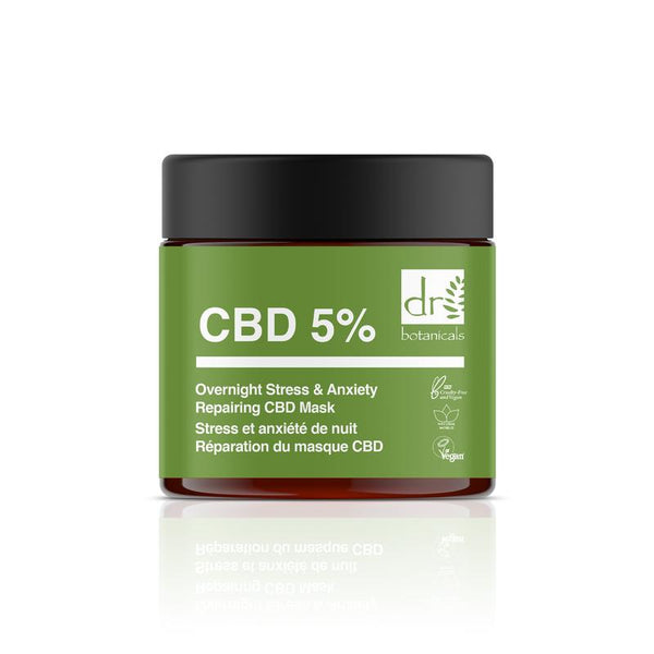 Overnight Repairing Stress & Anxiety CBD Mask