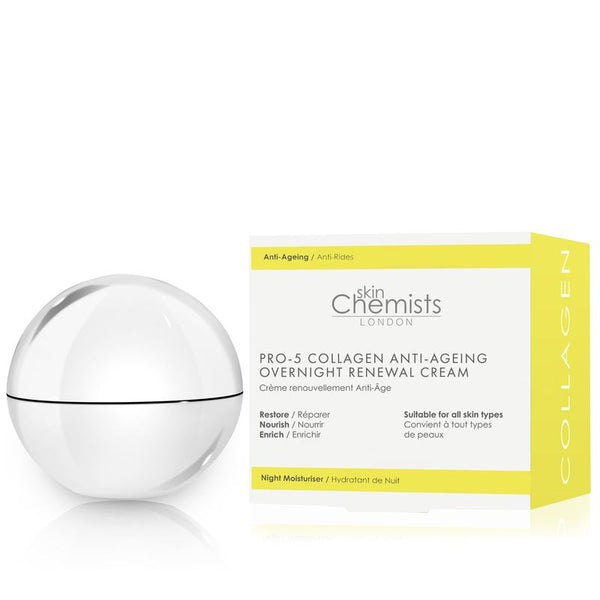 Pro-5 Collagen Anti-Ageing Overnight Renewal Cream