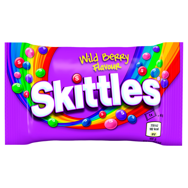 Skittles Wildberry Bag (45G)