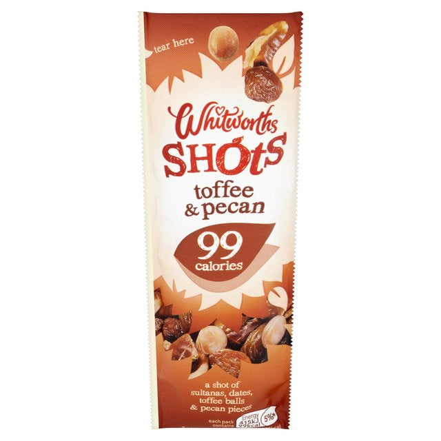 Whitworths Toffee Pecan Shot (25g)