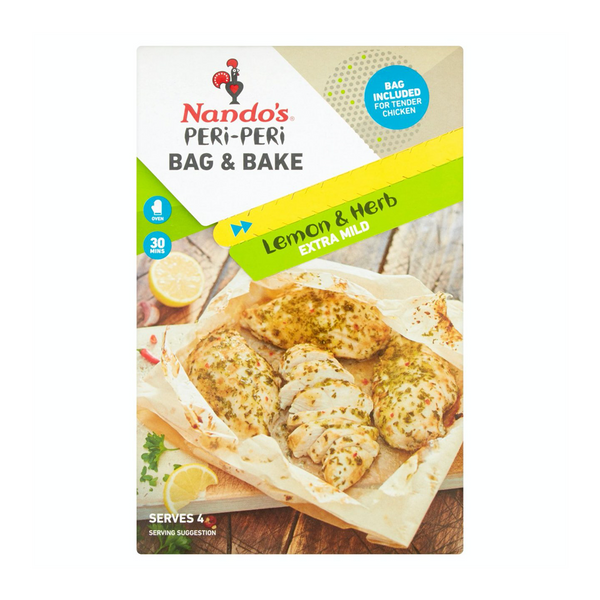Nando's Peri-Peri Bag N Bake Lemon & Herb (20G)
