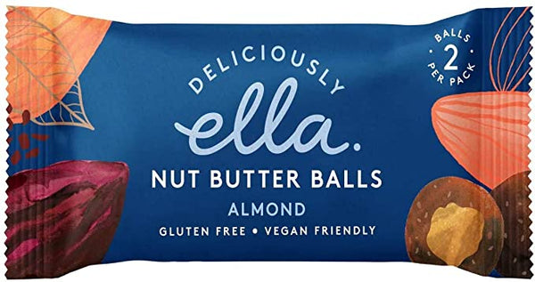 D'Ella Almond Nut Butter Ball (36G)