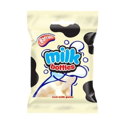 Barratt Milk Bottles Sweets (150G)