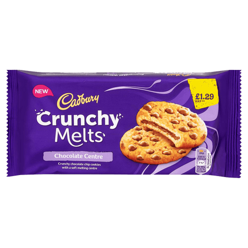 Cadbury Crunchy Melts Chocolate (156g)