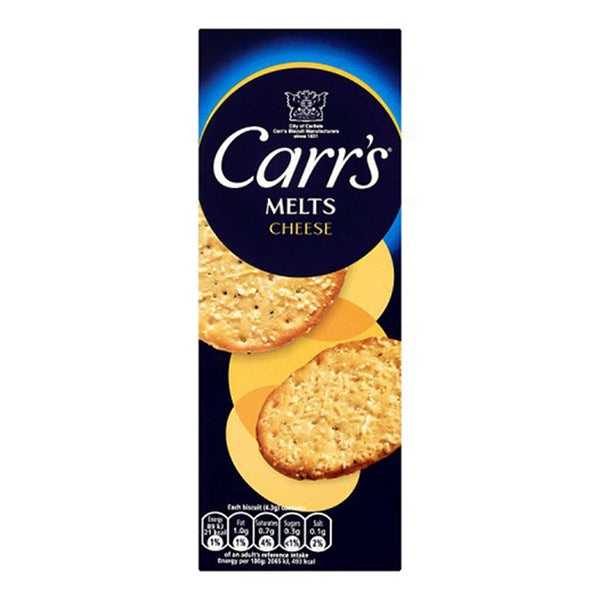 Carrs Cheese Crackers (150g)