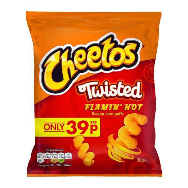 Cheetos Twisted Flamin Hot (30g)