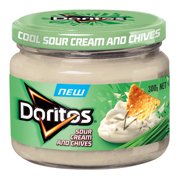 Doritos Sour Cream & Chive Dip (300g)