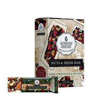 Nuts & Seeds Bars - Dark Chocolate & Sea Salt (Pack of 6) (180g)